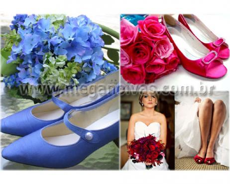 72b27abfd Sapatos coloridos no seu casamento - Acessórios e Complementos ...